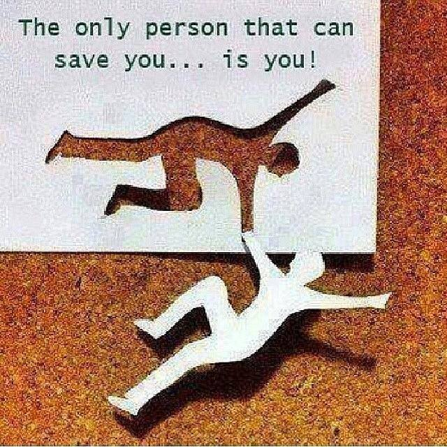Only-person-to-save-you