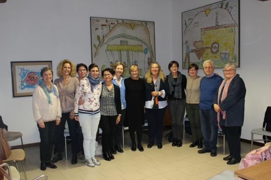 Gruppo con Anna Maria Savegnago